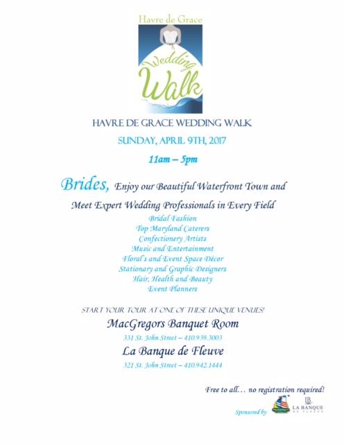 Wedding Walk Brochure 2017